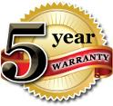 Maryland Roof Cleaning offers a 5 year warranty